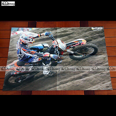 TOMMY SEARLE (2008) - Poster Pilote MOTO #PM220