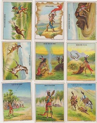 MANY LISTED 1910 Hassan Cigarette Indian PICK ONE CARD/MORE NO CREASES CLEAN