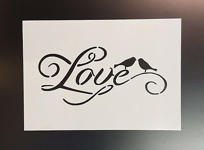 Live laugh love quote wall art stencil,Strong,Reusable,Recyclable