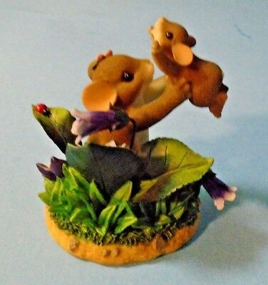 """Charming Tails """"Lifted by Your Love"""" Figurine Fitz & Floyd 89/148"""