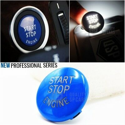 PULSANTE start stop BLU BMW serie 3 5 X TASTO ACCENSIONE msport accessori tuning