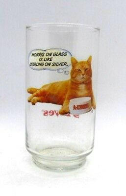 Morris the Cat 9 Lives Morris on Glass is Like Sterling on Silver Collectible