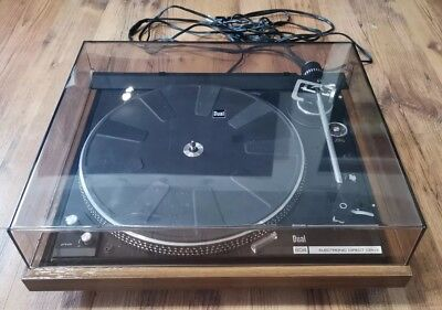Vintage Dual CS 604 Electronic Direct-Drive Turntable