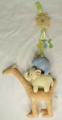 Carter's JOHN LENNON Plush Hanging Toy Real Love Giraffe Elephant Rhino Sun