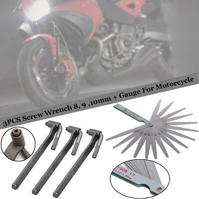 Motorcycle Valve Wrench Set Scooter Tool Screw Universal Professional Hot Sale