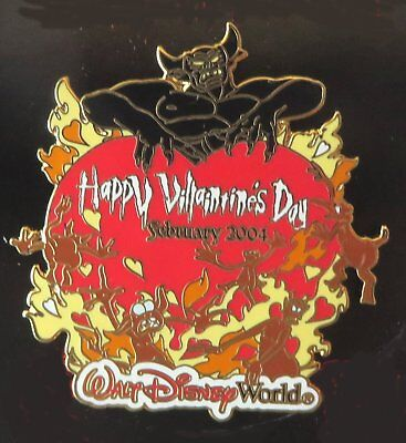 Walt Disney World pin, Happy Villaintine's Day 2004 - Chernabog completer