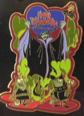 Walt Disney World pin, Happy Villaintine's Day 2004 - Maleficent, Diablo & Goons
