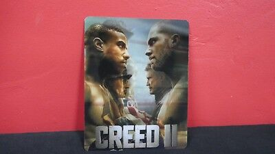 CREED II 2 - 3D Lenticular Magnet / Magnetic Cover for STEELBOOK