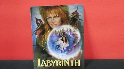 LABYRINTH - 3D Lenticular Magnet / Magnetic Cover for BLURAY STEELBOOK