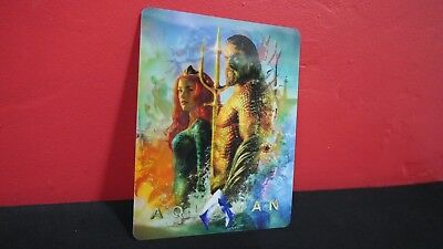 AQUAMAN aqua man - 3D Lenticular Magnet / Magnetic Cover for STEELBOOK