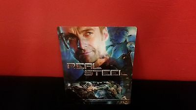 REAL STEEL - 3D Lenticular Magnet Cover for BLURAY STEELBOOK