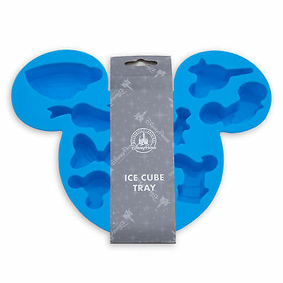 Disney Parks Mickey Mouse Icon Silicone Ice Cube Tray New with Tags