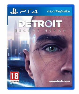 Games - Ps4 - Detroit - Become Human