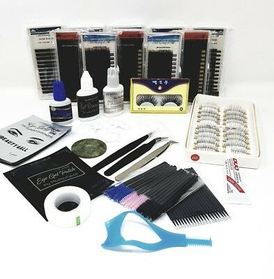 XD Volume Individual Eyelash Extensions Semi Permanent Lashes kit N; 31