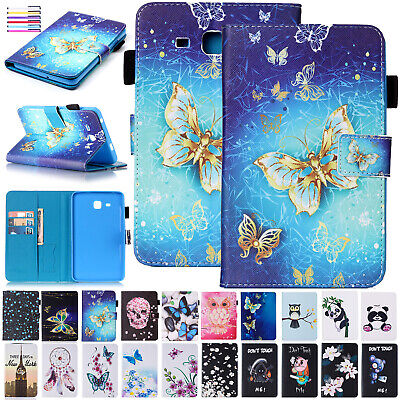 For Samsung Galaxy Tab A6 10.1 T580 T585 Leather Wallet Case Magnetic Flip Cover