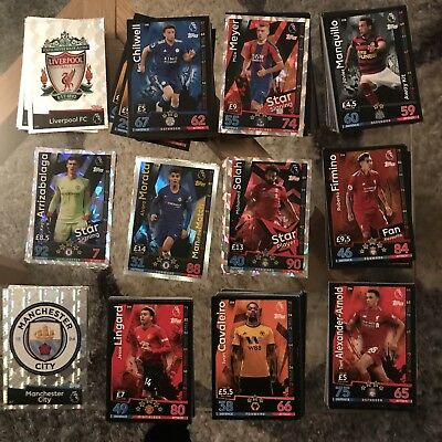 Match Attax 2018/19 Pick Your Own 10 Cards-Man Of The Match,Rising Stars,SS
