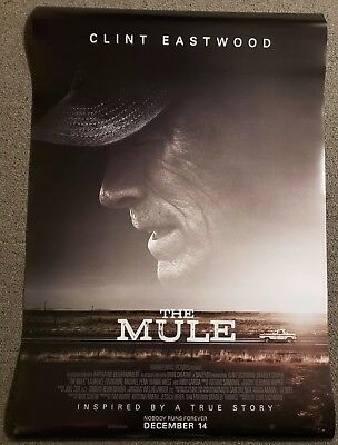 The Mule 27x40 Double Sided Movie Theater Poster Clint Eastwood