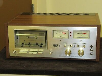 Pioneer CT-F8282 Stereo Cassette Tape Deck  AS IS