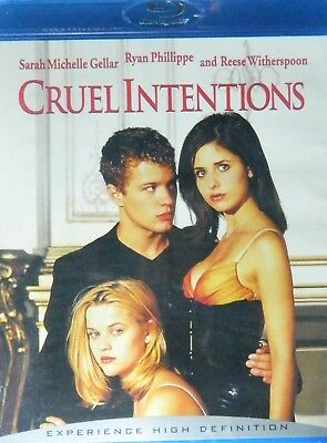 CRUEL INTENTIONS (1999) Blu-ray Sarah Michelle Gellar Ryan Phillippe SEALED