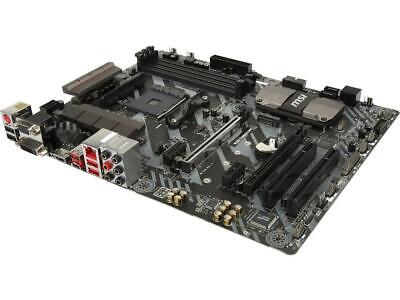 MSI B350 TOMAHAWK AM4 AMD B350 SATA 6Gb/s USB 3 1 HDMI ATX AMD Motherboard