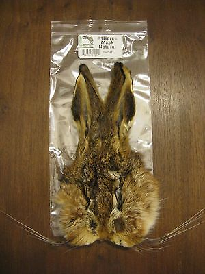 Fly Tying-Hareline Grade #1 Hare/'s Mask dyed Dark Brown