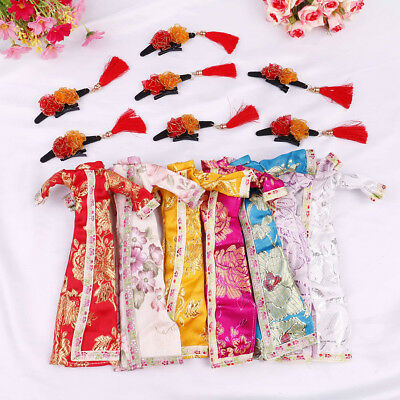 Doll handmade unique dress clothes for chinese traditional dress cheongsam  El