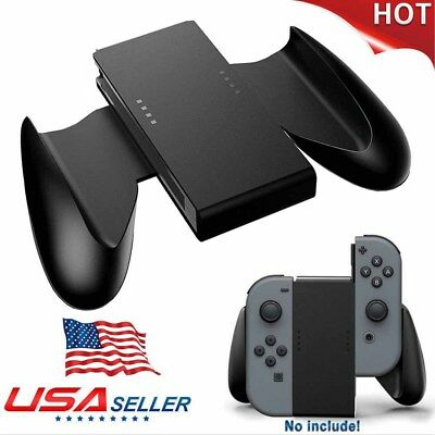Comfort Grip Handle Charging Station Holder For Nintendo Switch Joy-Con Charger