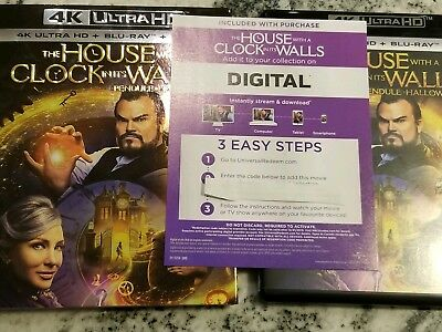 The House With a Clock In Its Walls UHD Digital Code Jack Black Cate Blanchett