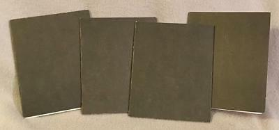 Reproduction US Army AEF Paybooks, France, 1917-1918--Lot of Four