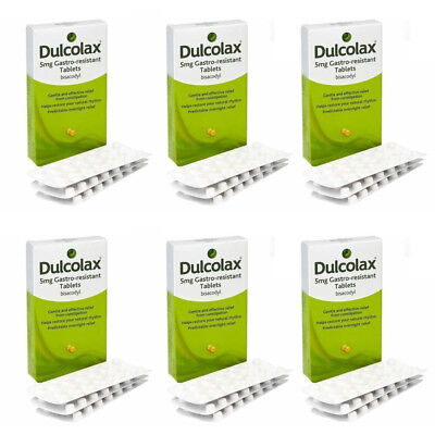 Dulcolax 40 Tablets Bisacodyl 5mg Laxative Constipation Relief tablets