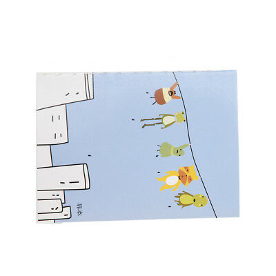 10X(Cartoon Little Notebook Handy Notepad Paper Notebook D9F1)