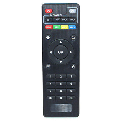 Black Wireless Replacement Remote Control For MXQ Android Smart TV Box IPTV