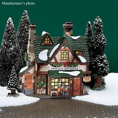 Quilly's Antiques, Dickens Village Dept 56 Retired, No. 5834-8