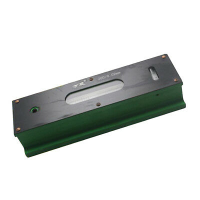 Precision Level Bar Leveler, High Accuracy 0.02mm, with Storage Case 200mm