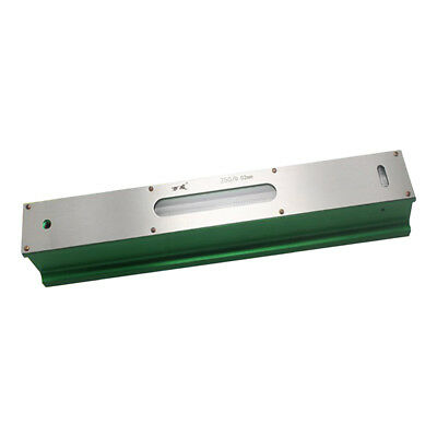 Precision Level Bar Leveler, High Accuracy 0.02mm, with Storage Case 250mm