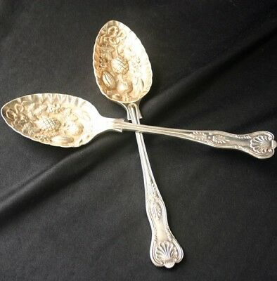 COOPER BROS & Sons Silverplate ENGLISH KING Serving Set