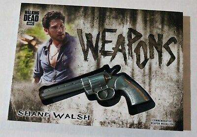 2018 Walking Dead Hunters and The Hunted Weapon Insert Shane Walsh