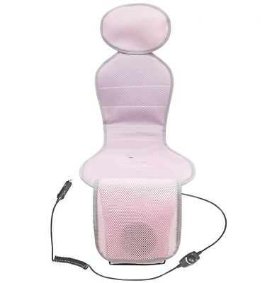 Breezy Kids Baby car seat liner with cooling fan - PINK Color (new)