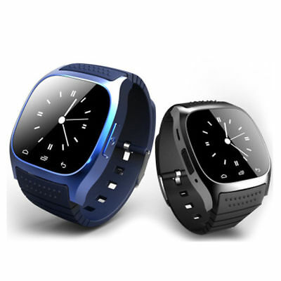Popular M26 Bluetooth Alarm Clock Wrist Smart Watch For IOS Android Mobile phone
