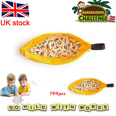 BANANAGRAMS Wild Tiles Vocabulary Building Spelling Educational Puzzle Games Toy