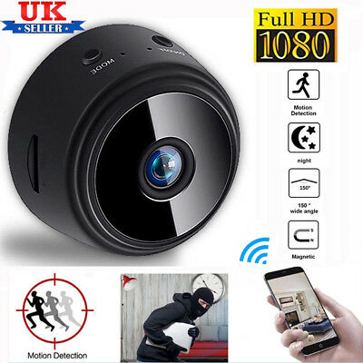 1080P HD Mini IP WIFI Camera Camcorder Wireless Home Security DVR Night Vision U