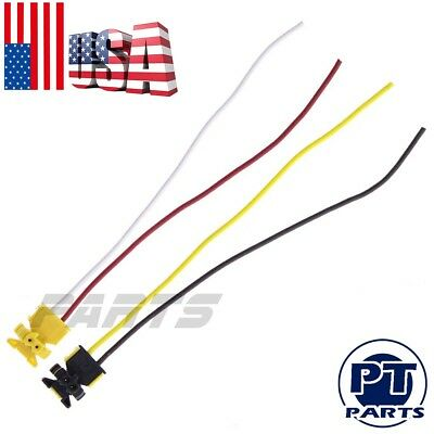 FITS-DODGE RAM 1500 AIRBAG CLOCKSPRING PLUGS WIRE CONNECTOR NEW AAA 2PC