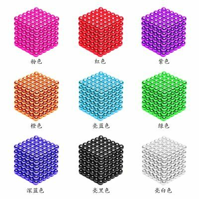 216Pcs 3mm Magnetic Buck Ball Magnet Colorful Intelligent Stress Relieve