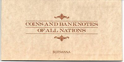 Botswana Coins & Banknotes of All Nations Stamp Coin  Banknotes Cover
