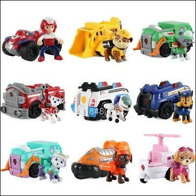 BIG Paw Patrol Car Action Figure Toys Paw Patrol Car With Light Music NO BOX