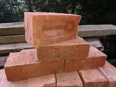 Ibstock Leicester Bradgate Red 65mm Bricks - Lot of 50 - Total of 350 available