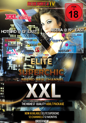 Redlight Elite Superchic Viaccess Karte 12 Mon. FSK 18 (für Viaccess Secure CAM)