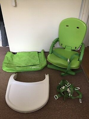 Mothercare Green Travel Highchair With Tray 600 Picclick Uk