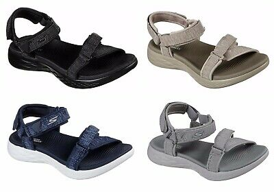 73add3c37314 Skechers Radiant On-The-Go 600 Ladies Sporty Casual Touch Fast Strappy  Sandals