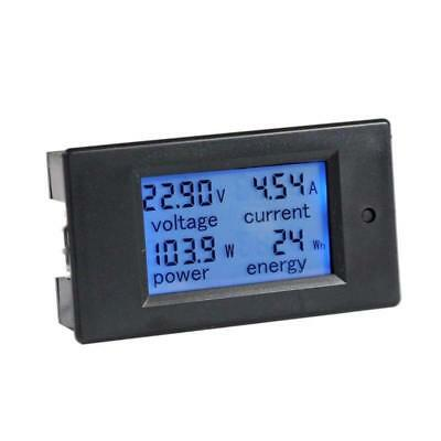 DC 6.5-100V 0-100A LCD Display  Current Voltage Power Multimeter Energy Meter